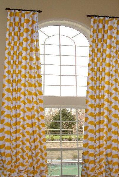 STORE WIDE SALE Custom Curtain Drapes Designer  by draperyloft, $155.00