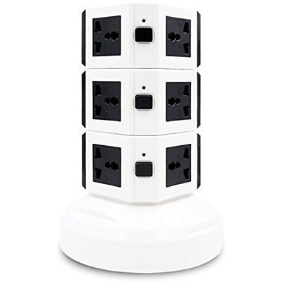 Power Strip Tower 3500W - Surge Protector Electric Charging Station 13A 16AWG 102  - Surge Protectors, EAN - 0609378461903, Manufacturer - IdentikitGift, Free Shipping - Yes, TAX - Non - Tax