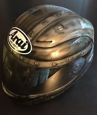 ARAI Motorcycle Street Bike KBC HELMET - Custom Fighter Jet Paint - Size L Large