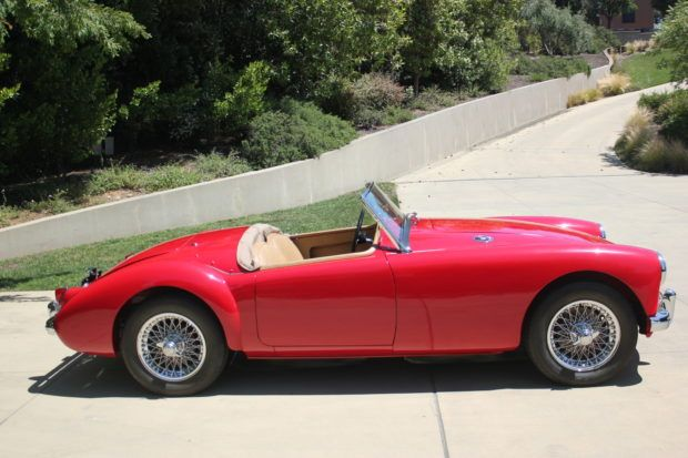 1957 Mg Mga Roadster Roadsters Tonneau Cover Classic Cars Online