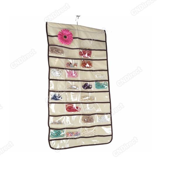 Jewelry Hanging Storage Organizer Bag 80 Pocket Hotsale   eBay