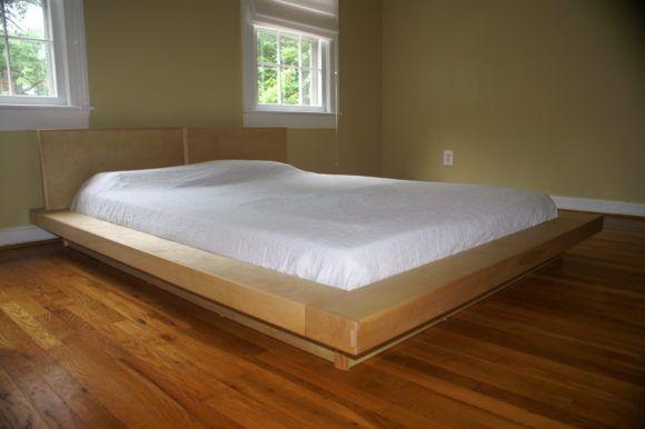 Low Wood Japanese Style Platform Bed Frame With Minimalist Design Platform Bed Plans Japanese Platform Bed Japanese Bed Frame