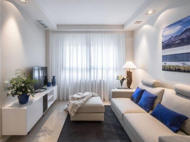 Amenajare de apartament in stil contemporan cu tonuri neutre si decor minimalist- Inspiratie in amenajarea casei - www.povesteacasei.ro