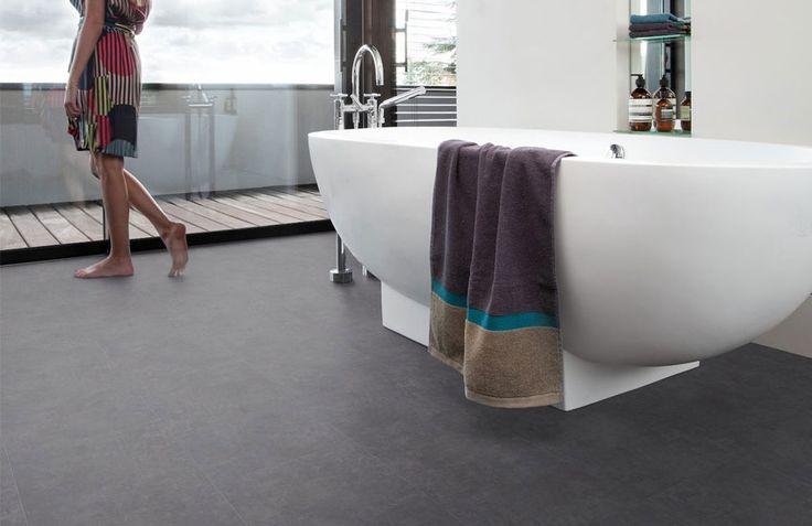 30 best • Tegel/betonlook pvc vloeren images on Pinterest   Floors ...