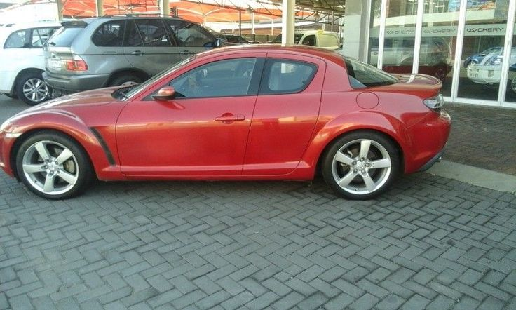 I have your dream car just waiting for you.A Spotless 2008 Mazda RX 8, a true beauty atthe lowest price, you can not miss this!For a test drive in your new dream car, call usnow2008 Mazda RX 8 - Manual171458kmfor only R149 900Red in colorMagsLeather seatsAirconElectric windowsFactory fitted CD front loaderBoot spoilerClean and well looked afterFull service historyNB Please be advised to use Antoinette as yourreference