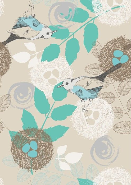 Birds and nests Living Room Art from $47.99 | www.wallartprints.com.au #LivingRoomDécor