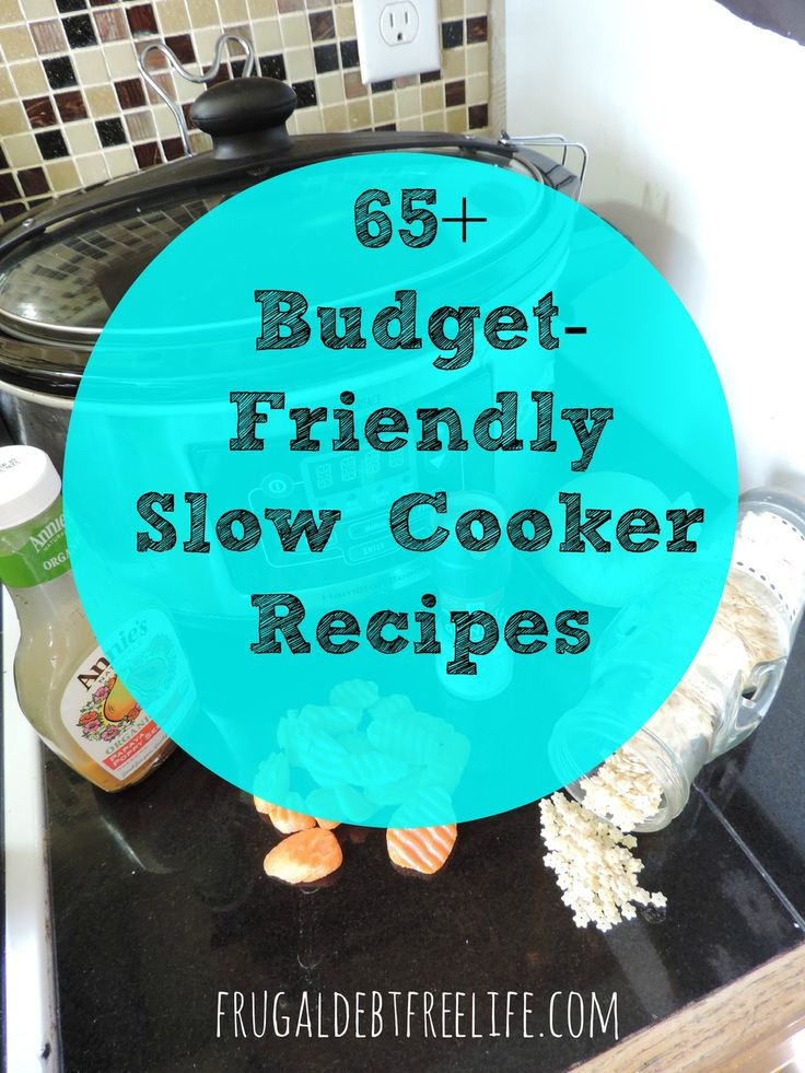 65+ slow cooker recipes for any occasion. Family and budget-friendly recipes.