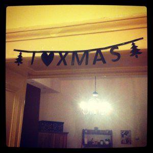 DIY letter banner http://ladiy.cafeblog.hu/ #diy #banner #letter #homemade #inspiration