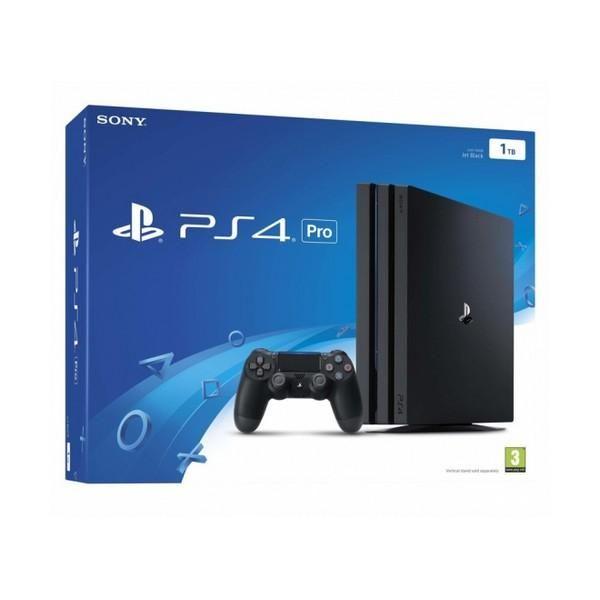 Playstation 4 Pro Sony 37067 1 Tb Black Playstation Playstation
