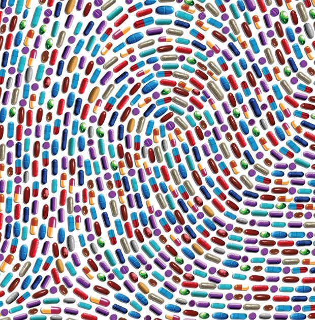 The future of medicine (highly personalized) | Daniel Hertzberg Illustration