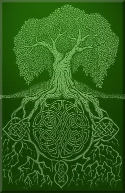 Irish Celtic Tree. I want this as a tattoo