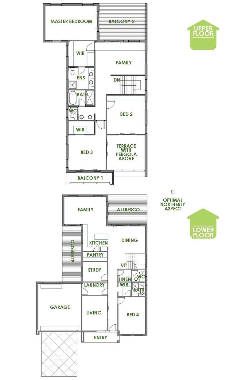 24 best 2016 home design range from green homes australia for Energy efficient floor plans