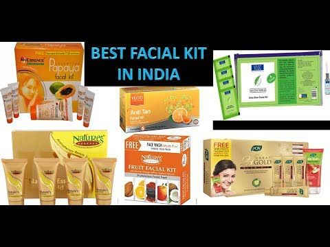10 Best Facial Kit in India with Price I 2017 I Fruit Facial Kit  I Shahnaz husain facial kit