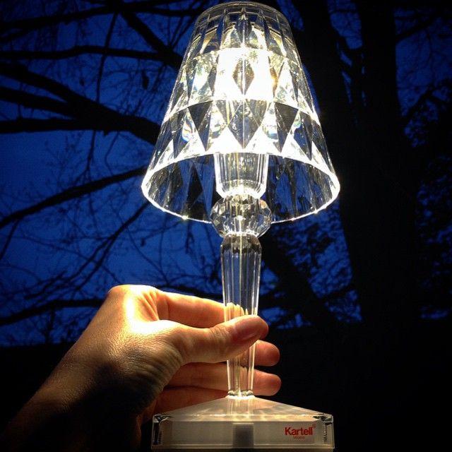 7f3f39e4c4100843cf3f19079b543397  kartell transparent 5 Incroyable Lampe à Poser Kartell Kqk9