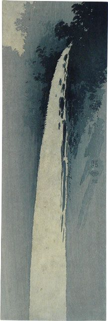 Waterfall - Uehara Konen (1878-1940)