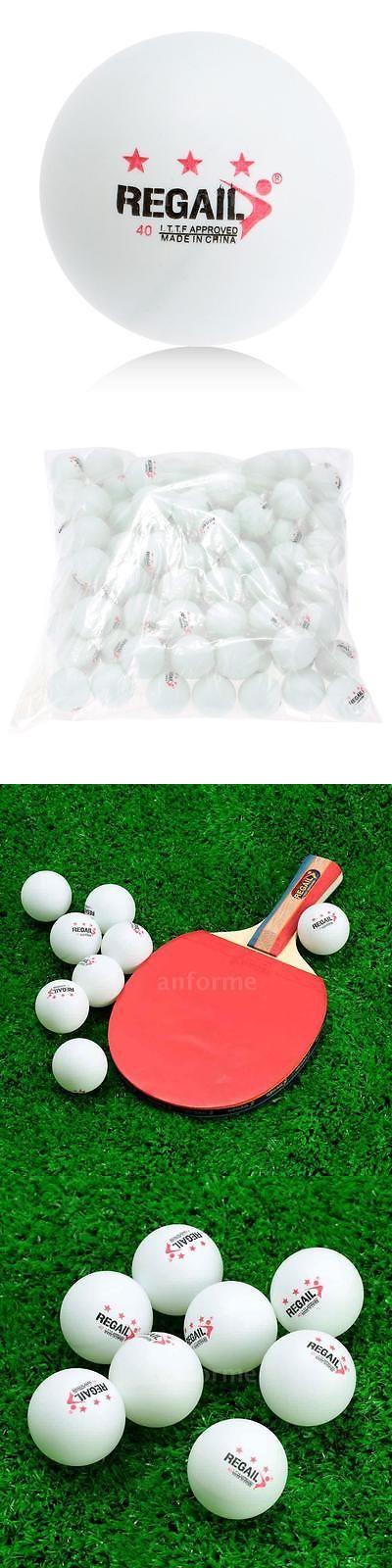 Balls 97073: 500Pcs 3-Star 40Mm Olympic Table Tennis Ball Pingpong Balls White N5k6 -> BUY IT NOW ONLY: $66.52 on eBay!