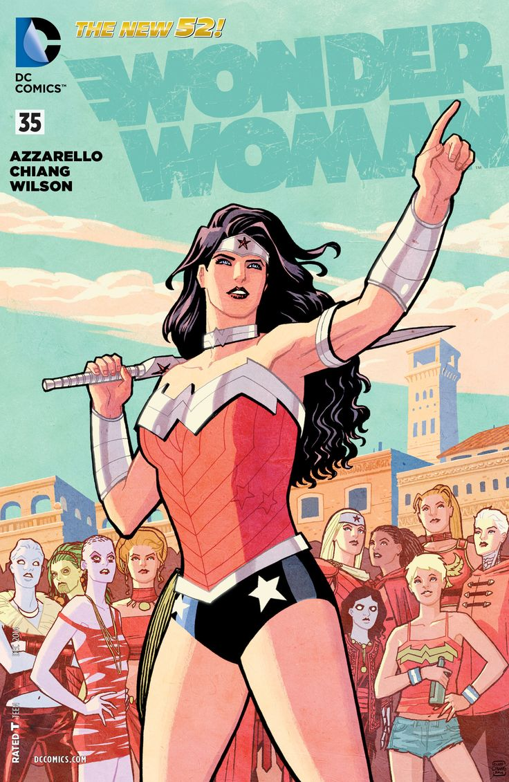 44 Best Wonder Woman Covers Images On Pinterest