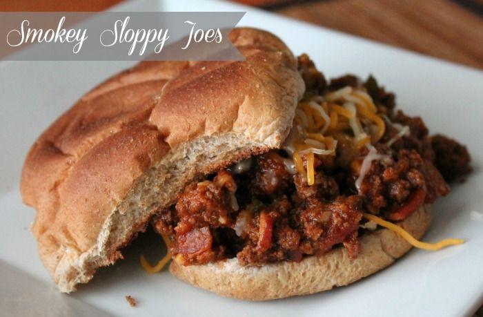 Smokey Sloppy Joes recipe. Perfect sloppy joe recipe for those that prefer a less sweet joe :)