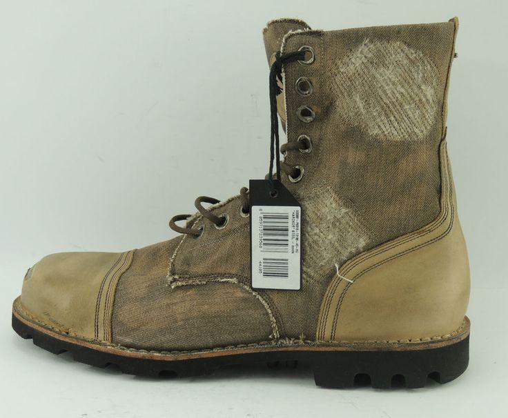 Diesel Hardkor Steel Herren Sneaker Schuhe Boots Chucks Leder Shoe Gr. 43 UK 9   eBay
