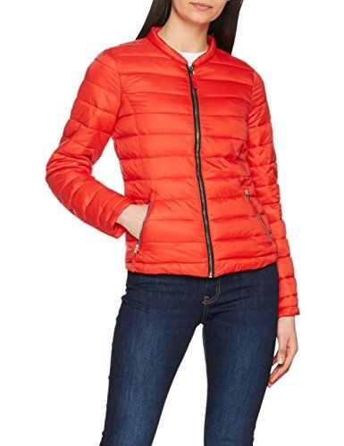 Pimkie MT SS18 Gcocoon Manteau Femme Rouge (Rouge) Medium (Taille  Fabricant  M 049891472b4