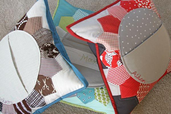 Pocket Pillows: Pockets Fitf, Petals Pockets, Photo Shared, Dresden Pockets, Pockets Pillows, Pillows Talk, Pillows Pockets, Patchwork Pillows, Fun Pockets