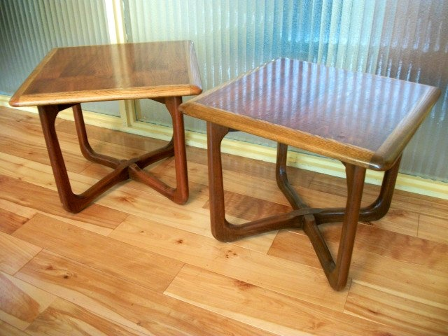 mid century modern furniture portland. Portland: Beautiful Mid Century Side Tables -Twin Set - Retro Modern $225 Http Furniture Portland