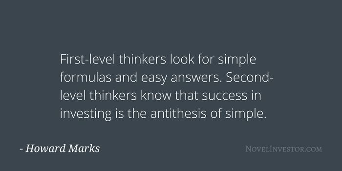 Howard Marks explains why second-level thinking - looking beyond the easy, obvious conclusions - is how great investors outperform.