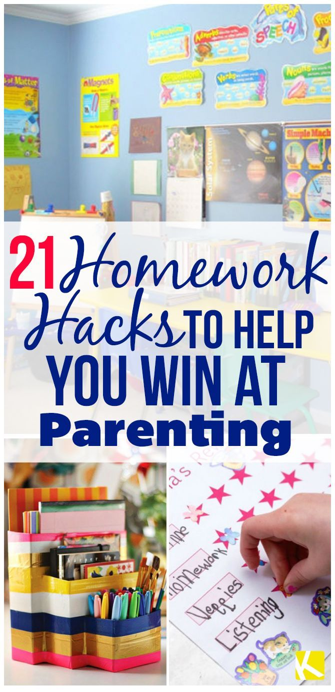 21 Homework Hacks to Help You Win at Parenting