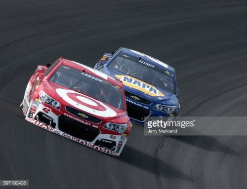 BROOKLYN, MI - AUGUST 28: Kyle Larson, driver of the #42 Target... #ayianapa: BROOKLYN, MI - AUGUST 28: Kyle Larson, driver of… #ayianapa