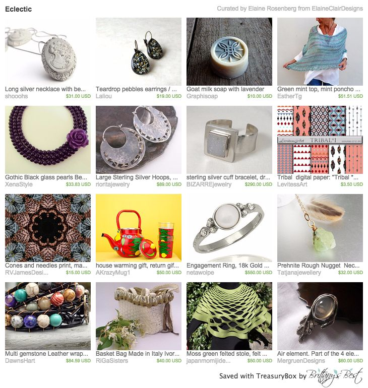 Our Basket Bag in this lovely treasury by ElaineClairDesigns <3 Thank you so much!!! https://www.etsy.com/treasury/MTA4OTQ2ODB8MjcyNDg5NjkwMw/eclectic?ref=pr_treasury