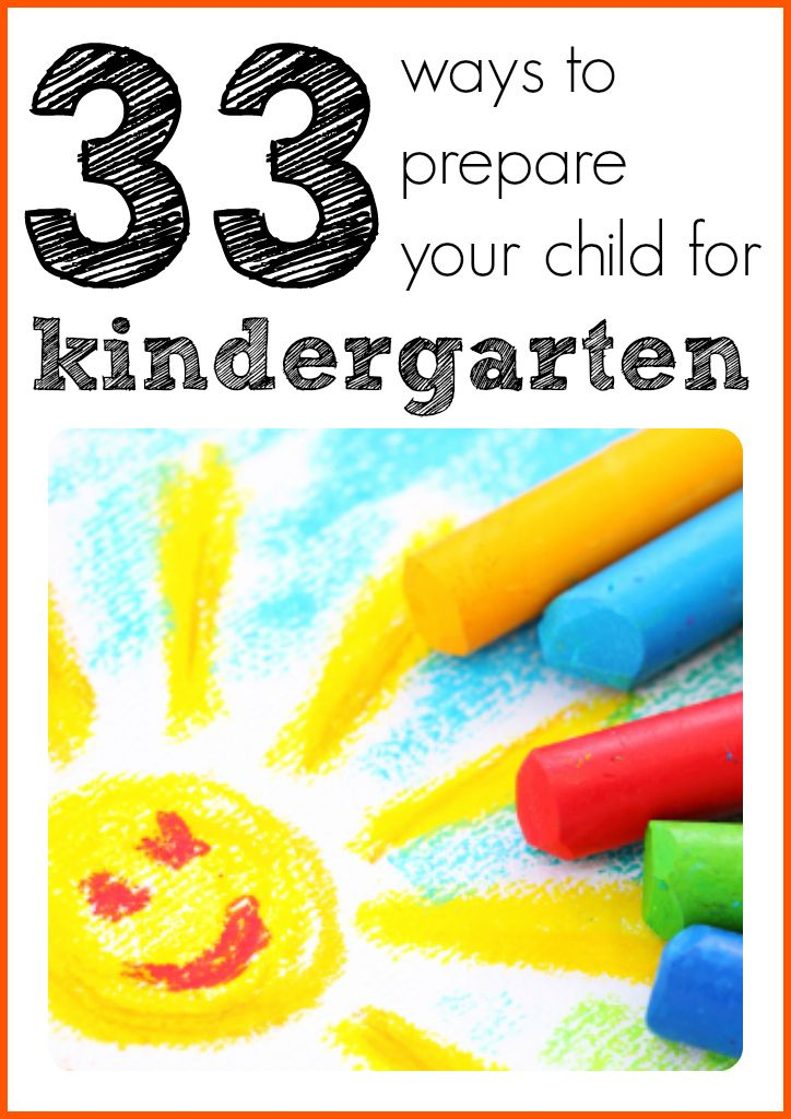 Prepare your child for kindergarten with this list of simple ideas and activities! #kindergartenreadiness