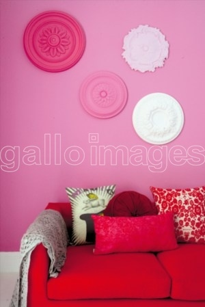 this is my next project, collecting ceiling roses for a feature wall