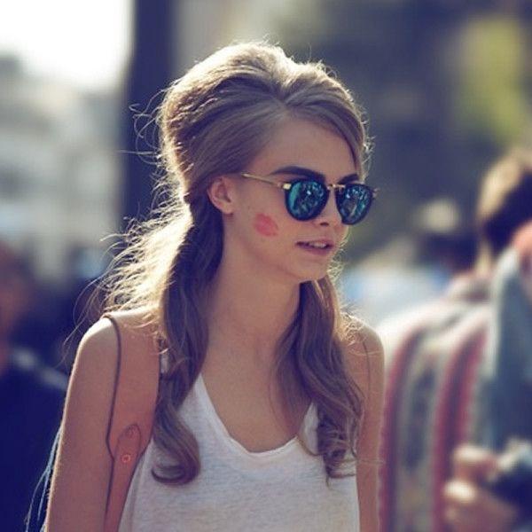 Celebrity Super Model Cara Develingne Sunglasses - zeroUV