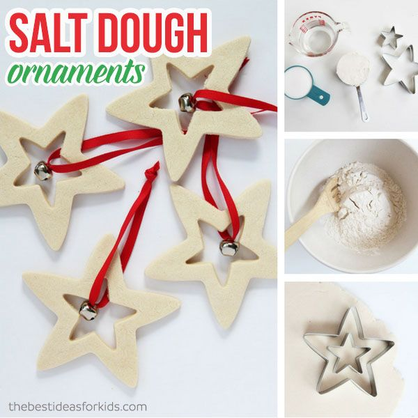Best 25+ Salt Dough Christmas Decorations Ideas On