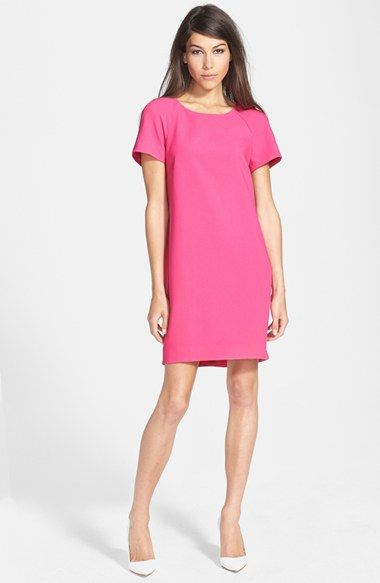 Wayf crepe shift dress available at nordstrom also cute for Shift dress for a wedding