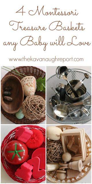 Montessori Treasure Baskets