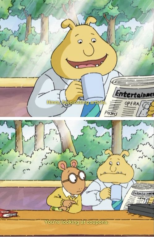 I don't remember asking you a damn thing Arthur…