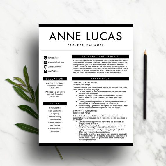 58 best Creative Resume Templates images on Pinterest Cv - fashion resume templates