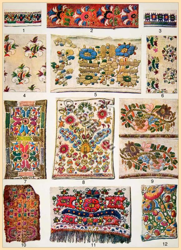Greek embroidery patterns