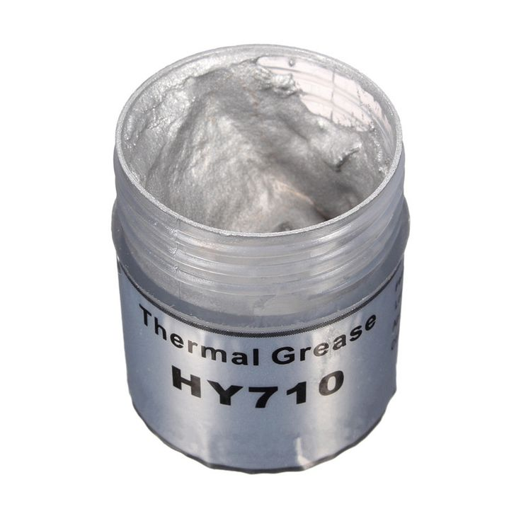High Quality HY710 10g Silver Silicone Compound Thermal Conductive Grease Cooling Cooler Silicone Grease For CPU Heatsink