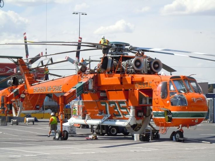 S64 Skycrane Aircraft Helicopters Pinterest