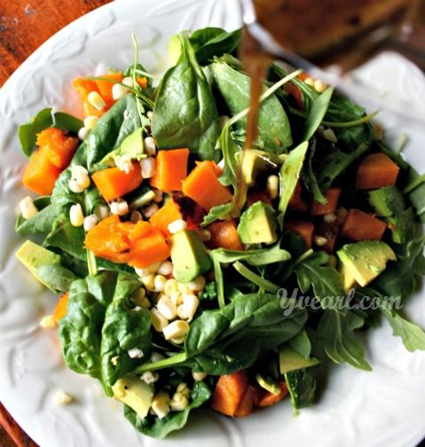 ... Vegan Salads on Pinterest | Salads, Chickpea salad and Quinoa salad