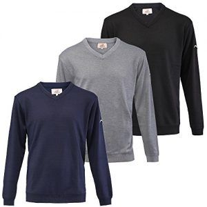 Woodworm Golf Long Sleeve Solid Sweater - 3 Pack XL