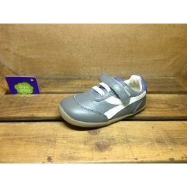 Zapatos grises Bobux para bebé Z1zyK