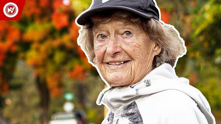 87-Year-Old Ironman Competitor | The Iron Nun - YouTube