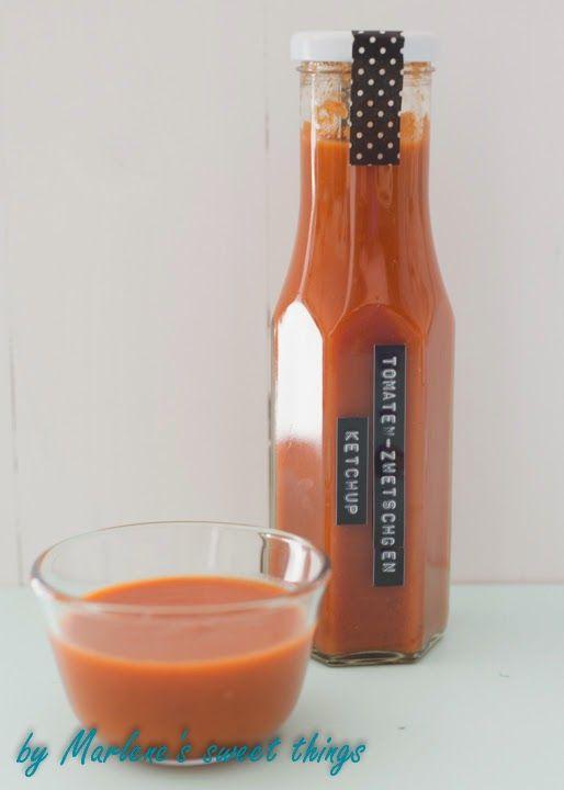 Marlene's sweet things: Zwetschgen-Tomaten-Ketchup