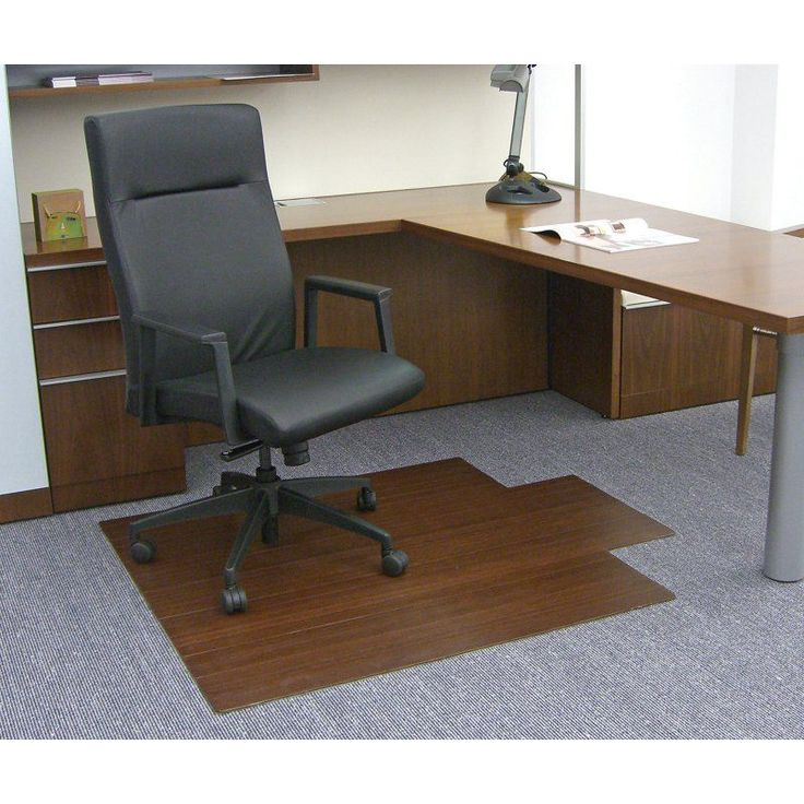 durable pvc home office chair. dark cherry 44 x 52 bamboo rollup office chair mat durable pvc home
