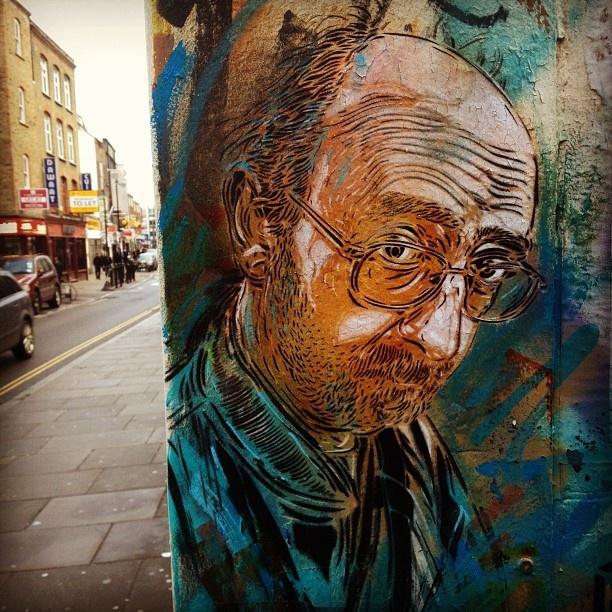 c215 London street art stencil