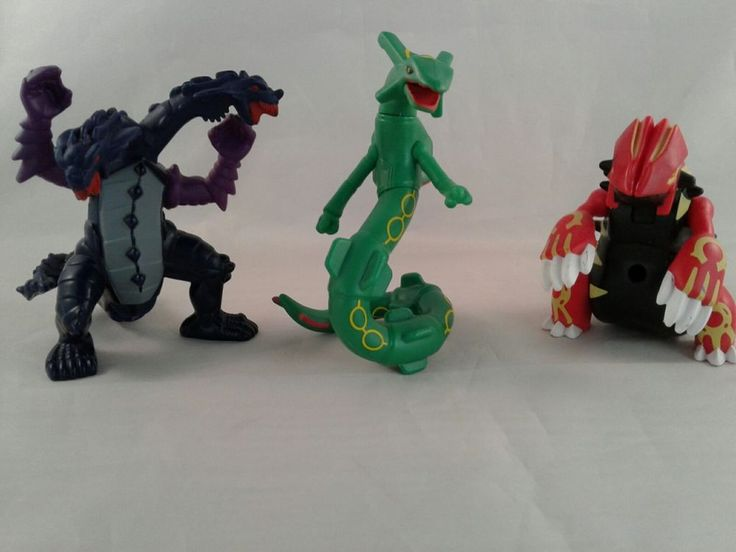 2015 McDonald's Happy Meal Toy #5 POKEMON RAYQUAZA Figures Green Blue Red Yellow | Toys & Hobbies, Fast Food & Cereal Premiums, Fast Food | eBay!