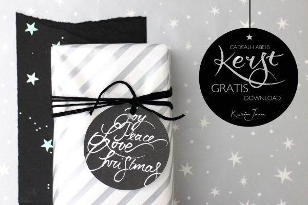 Kerst-cadeaulabels voor jou!